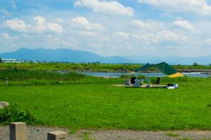 阿賀野川フラワーライン-雰囲気