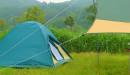 キャプテンスタッグ クレセントドーム 激安テントでキャンプを始める?